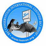 Bat Conservation International Bat Certified Logo